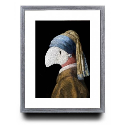 A3 - Paint me with a pearl Earring.