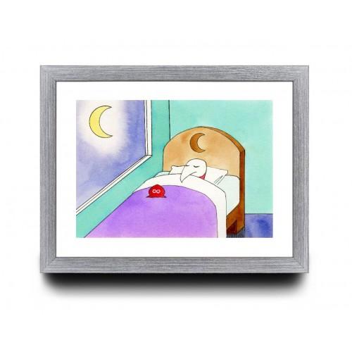 A4 - Sleep time is good time.
