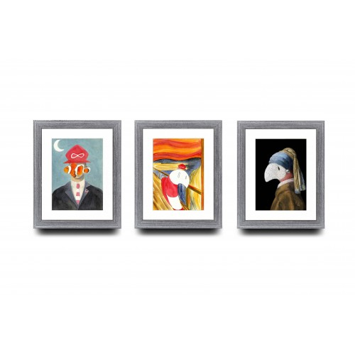 A5 Bundle of 3 - Famous Painting Series