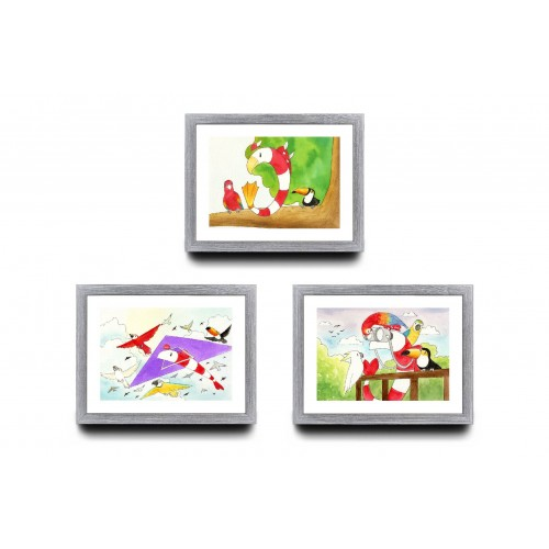 A4 Bundle of 3 - Nature Series