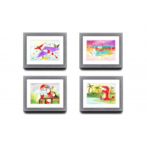 A5 Bundle of 4 - Nature Series